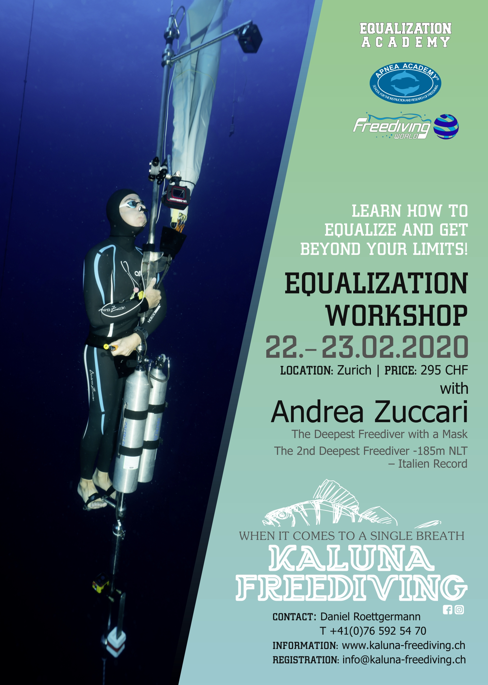 Equalization Workshop with Andrea Zuccari